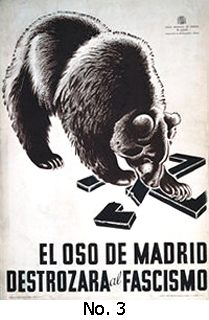 [The Bear of Madrid Will Destroy Fascism]