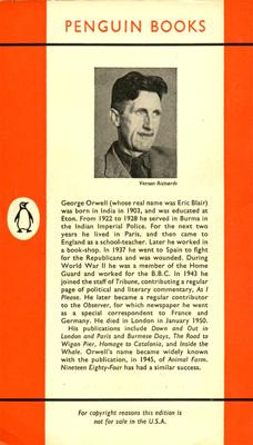 george orwell essay on good writing