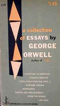 George orwell essay on writing