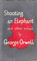 [Shooting an Elephant and Other Essays - Cover page]