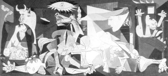 ['Guernica' - Drawing by Pablo Picasso]